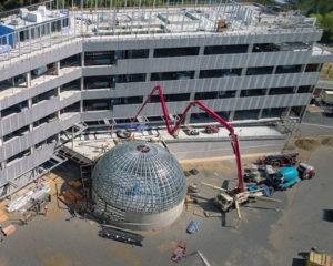 SCUS Science Complex Under Construction in Sacramento